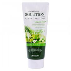 Deoproce Пенка для умывания лица с экстрактом зелёного чая, 170 мл