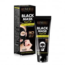 Revuele Black Mask Маска-пленка для лица PRO-COLLAGEN