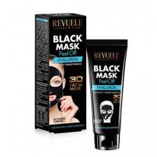 Revuele Black Mask Маска-пленка для лица HYALURON