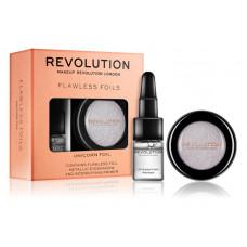 Makeup Revolution Flawless Foils металлические тени для век с базой