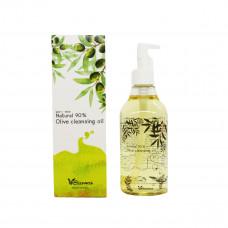 Гидрофильное масло , ELIZAVECCA, Natural 90% Olive Cleansing Oil, 300 мл