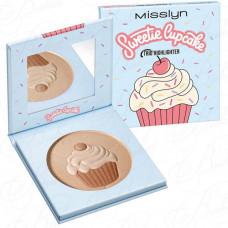 MISSLYN MAKE UP SWEETIE CUPCAKE TRIO HIGHLIGHTER №03 Sugar Rush Хайлайтер для лица