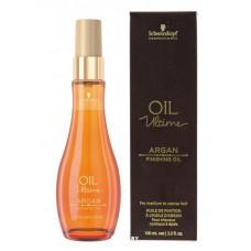 Schwarzkopf Professional Oil Ultime Argan Finishing Oil Аргановое масло для нормальных и жестких волос 100ml