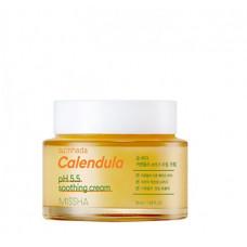 Missha Успокаивающий крем с экстрактом календулы для чувствительной кожи, 50 мл.
