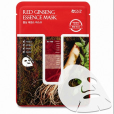 SNP Red Ginseng Essence Mask Маска с экстрактом корня красного женьшеня
