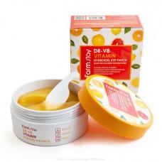 Farm Stay DR-V8 Vitamin Hydrogel Eye Patch Гидрогелевые патчи с витаминами