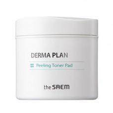 The Saem Пилинг пады очищающие / Derma Plan Peeling Toner Pad
