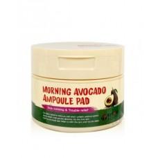 Eyenlip Утренние пэды с экстрактом авокадо для лица, 100 шт.