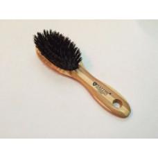 Массажная щётка для волос SALON PROFESSIONAL бамбуковая с натуральной щетиной,маленькая