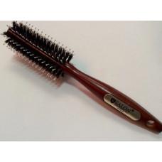 Брашинг для волос SALON PROFESSIONAL деревянный с комбинированной щетиной( 4779CLB)