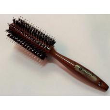 Брашинг для волос SALON PROFESSIONAL деревянный с комбинированной щетиной